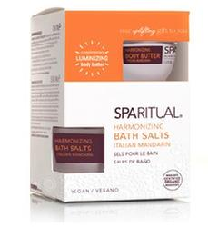 sparitual Italian Mandarin Bath Salts with Body Butter San Antonio Texas